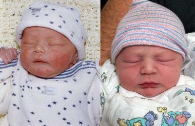 Comparison Photo of the Boys
